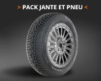Pack jante + pneu