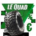 Promo : Top affaires sur les pneus QUAD